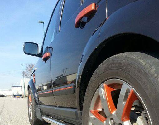personalizacion de coche range rover