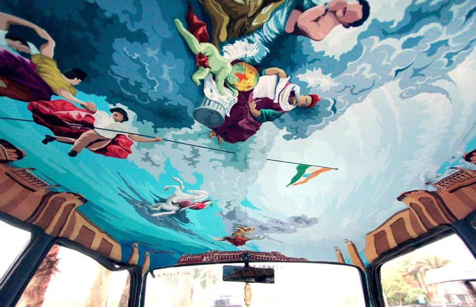 tapicería-taxi India