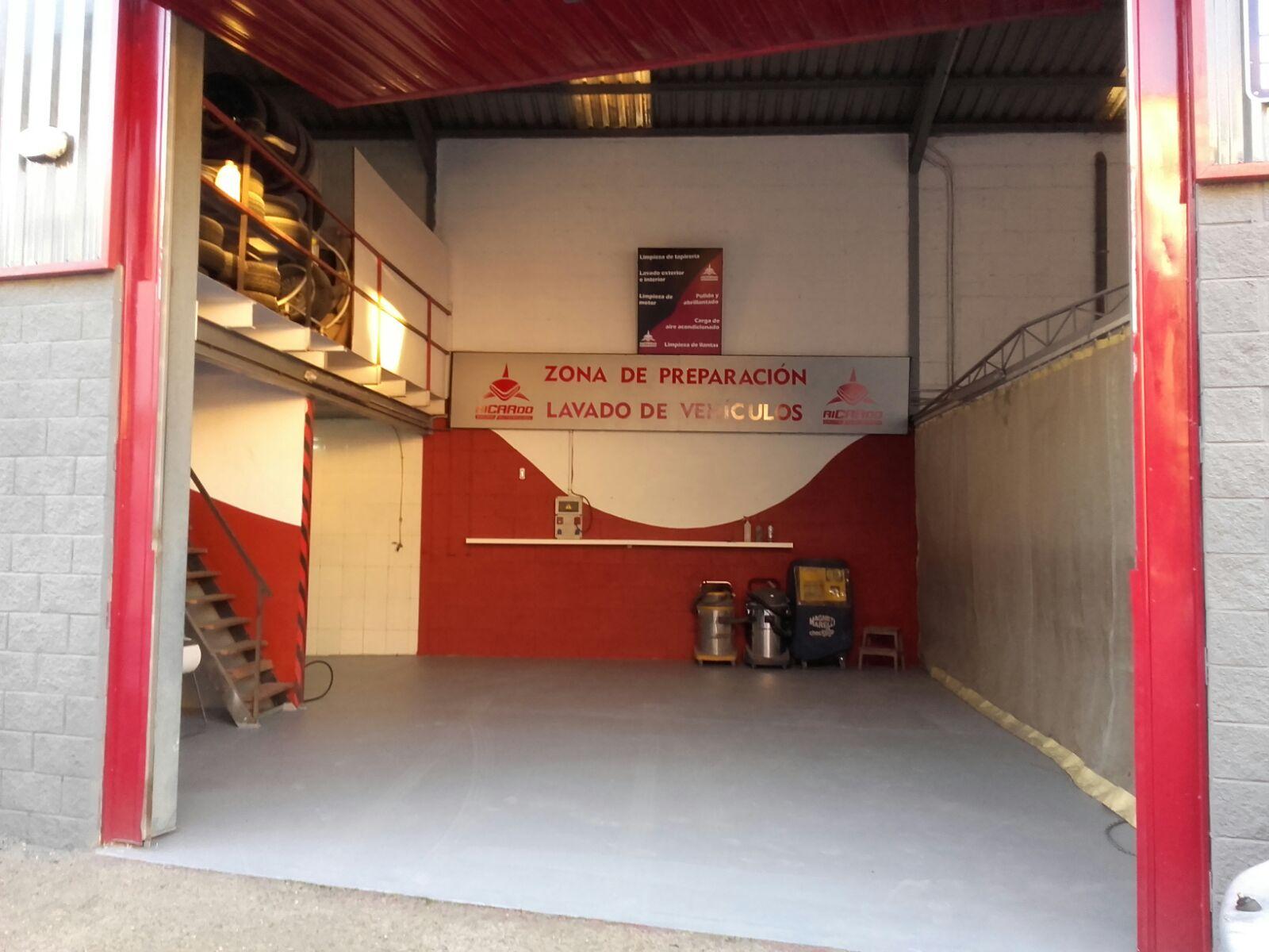 zona preparacion taller chapa y pintura