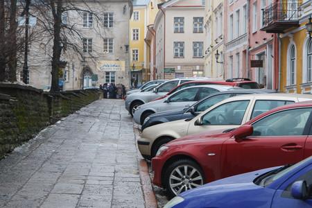 aparcamiento en calle taller chapa y pintura
